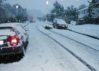 New Zealand's winter: major snowfall has covered the roads