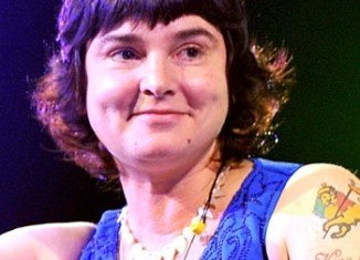 Sinead O'Connor has openly written about her nonexistent intimate life in a bizarre online blog. (Wire Image)