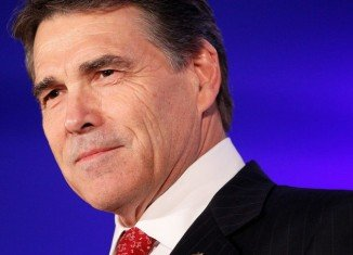 Texas Governor Rick Perry is running for the US presidential race.