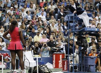 Serena Williams was fined $2,000 for verbal outburst against chair umpire Eva Asderaki