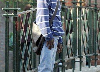 Siraj Yassin Abdullah Ali walking free on London streets.