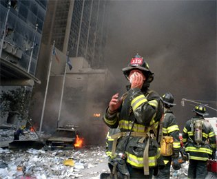 The rescuers at 9/11 WTC are at 19% higher risk of cancer as a result of exposure to toxic fumes, according to a study published in a special The Lancet series to mark the 10th anniversary of the atrocity.