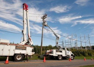About 770,000 CL&P customers were without power due to the snowstorm, surpassing the peak number of outages caused by Tropical Storm Irene two months ago