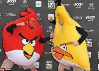 Angry Birds is on top of the list of 2011 Halloween costume-related searches from Google