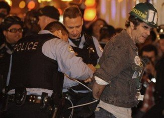 Police said they made approximately 100 arrests among Occupy Chicago protesters early Sunday