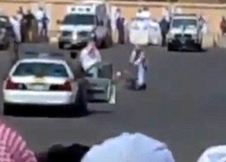 "Abdul Hamid, a Sudanese man was publicly beheaded last month in Saudi Arabia in a car parking for being a ""sorcerer"""