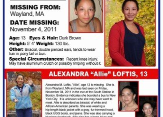 Allie Loftis' family had searched long and hard for their daughter, never giving up hope, with their efforts rippling throughout the New York area to local police stations, city streets and across social media sites showing a number of various fliers