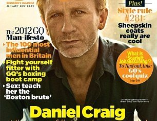 Daniel Craig launched an astonishing foul-mouthed rant at the brood, headed by Kim Kardashian, in a new interview in the January edition of GQ magazine