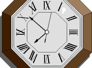 Don't forget to set your clocks back one hour before going to bed tonight because Daylight Saving Time ends Sunday at 2 a.m.