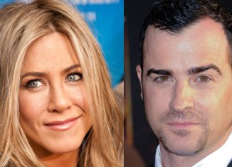 """Jennifer Aniston, 42, and Justin Theroux, 40, met on the set of new film """"Wanderlust"""" last autumn, but weren't romantically linked until late May this year"""