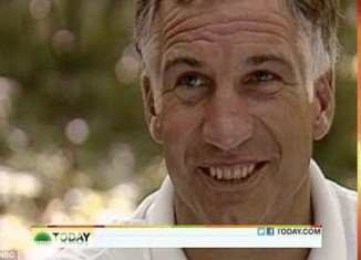 Jerry Sandusky during NBC news interview in 1987