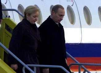 """The Berliner Zeitung in Germany said Vladimir Putin is alleged by his wife, Lyudmila, to have used """"domestic violence and to have had numerous sexual affairs"""""""