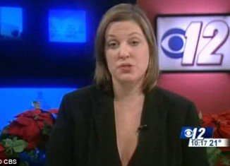 Annie Stensrud, a Minnesota news reader who faced allegations of being drunk while on air last week, has claimed she was sick and not under the influence of alcohol