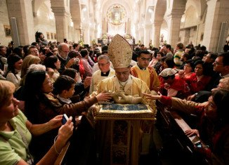 Bethlehem Christmas celebrations will culminate in Midnight Mass at the 1,700-year-old Church of the Nativity, built on the spot where it is believed Jesus was born