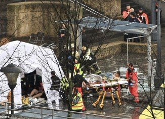 The death toll from yesterday's grenade attack at a Christmas market in Liege, Belgium, rose to six, including the killer himself