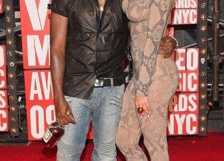 Amber said Kim Kardashian was one of the main reasons she and Kanye West 34 broke up