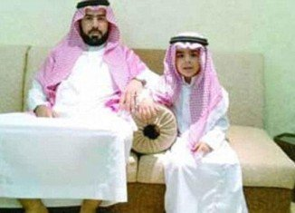 """Saud bin Nasser Al Shahry claims he is selling his son to avoid """"living in poverty"""" after his illegal business was shut down"""