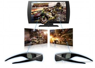Simulview also works as a 3D TV, using the fast-flicking 240Hz screen for 3D Blu-Rays, cable or satellite TV and PlayStation games