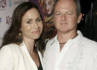 Actress Minnie Driver dated TV producer Timothy J Lea, the father of her son Henry, for a short time in 2009 before they split up