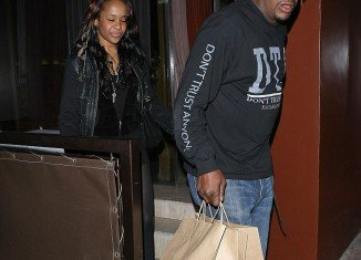 """Bobby Brown (pictured with daughter Bobbi Kristina) has been told he is """"not welcome"""" at Whitney Houston's funeral by several members of her family"""