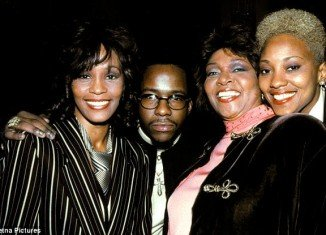Robyn Crawford (right) did not say whether she had a lesbian relationship with Whitney Houston and she has never commented on the rumors