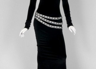 Whitney Houston's black velvet dress worn by singer in The Bodyguard is one of the items set to go on auction next month