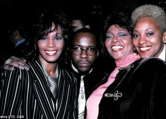 Whitney Houston pictured with Robyn Crawford (right), the star's greatest love, according to British gay rights activist Peter Tatchell
