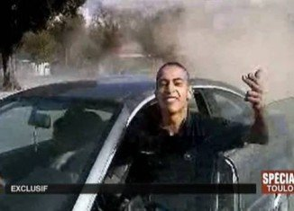 Al-Jazeera TV has received a video apparently showing the attacks carried out by Islamist gunman Mohamed Merah in Toulouse