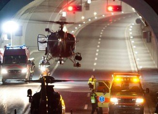 At least 28 people, including 22 children, have been killed after a Belgian coach crashed in a tunnel in the canton of Valais, Switzerland