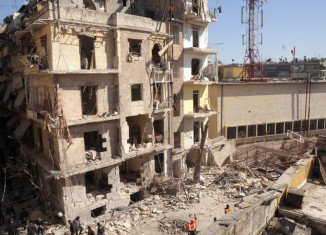Damascus bomb blasts over the weekend have been followed by firefight between the rebel Free Syria Army and the forces of President Bashar al-Assad