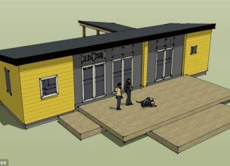 Ikea collaborated with Oregon architectural firm Ideabox to design the homes which will cost around $86,500 each