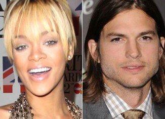 It was revealed that Rihanna has enjoyed an eight week fling with Ashton Kutcher