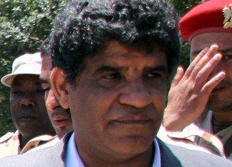 Libya has formally requested the handover of Abdullah al-Senussi, Muammar Gaddafi's former spy chief, following his arrest in Mauritania