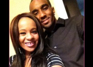 """Nick Gordon denies he is dating his """"sister"""" Bobbi Kristina Brown, but he says they are """"just close"""""""