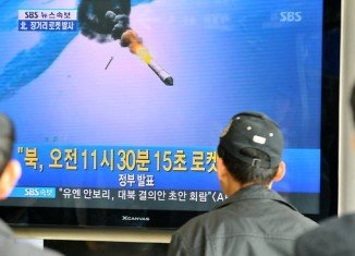 North Korean rocket due to be launched in April may affect an area between Australia, Indonesia and the Philippines