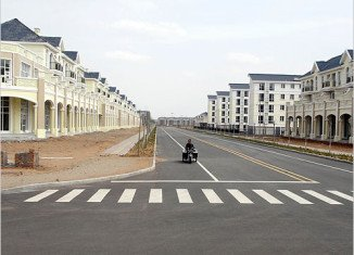 Ordos is a new city in Inner Mongolia that stands largely empty after the great Chinese building boom