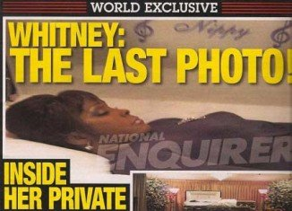 The Improper claims that the prime suspect of leaking Whitney Houston open casket photo to National Enquirer is Tina Brown, Bobby Brown's sister