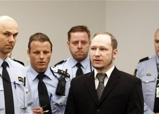 """Anders Behring Breivik says his killings in Norway last July were """"a small barbarian act to prevent a larger barbarian act"""