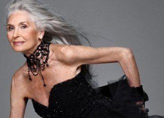At 83, Daphne Selfe, the world's oldest supermodel, appears in Vogue and struts along the Paris catwalks