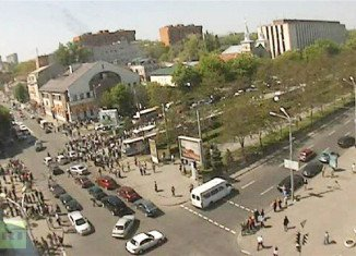 At least 27 people have been injured after four explosions have rocked the city of Dnipropetrovsk in eastern Ukraine