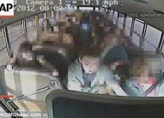 Jeremy Wuitschick, 13, took the wheel of school bus when driver passed out and save his colleagues