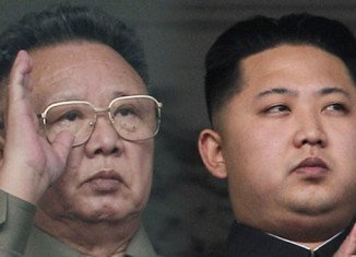 Kim Jong-Un was kept from public view until September 2010, when he was 27 years old and appeared with his father Kim Jong-Il