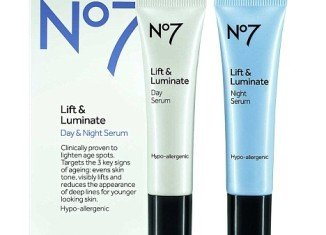 Lift & Luminate Day & Night Serum goes on sale on April 18 and claims to reduce the appearance of fine lines and firm up skin