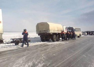 More than 600 Russian anglers stranded on an ice floe in far east have been rescued