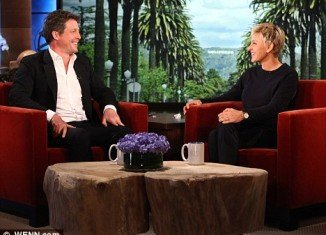 "Speaking on the Ellen DeGeneres Show yesterday, Hugh Grant admitted that becoming a dad has been ""life changing"" and he would highly recommend it to everyone"