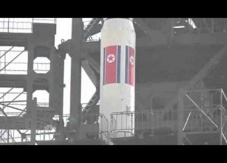 The North Korean rocket launch has failed on Friday morning