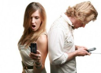 The study of mobile phone calls suggests that women call their spouse more than any other person