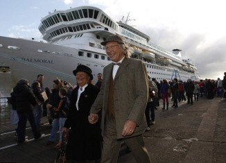 Titanic Memorial Cruise has been forced to turn round just hours after leaving the dock