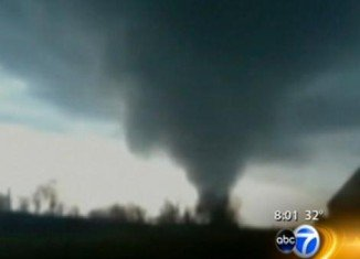 Two people died in Oklahoma after several tornadoes have hit a large swathe of the US Midwest