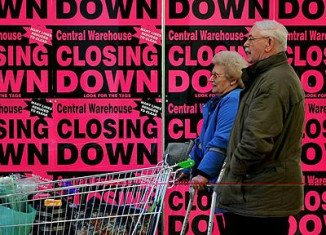 UK economy returns to recession after three years